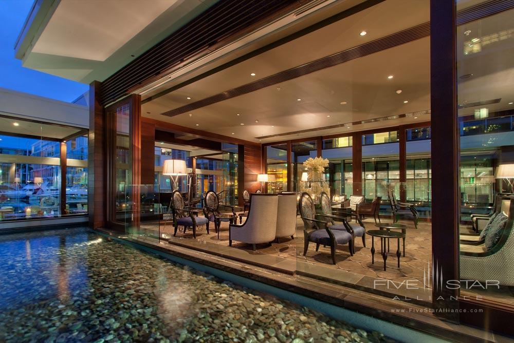 Lounge at Sofitel Auckland Viaduct HarbourNew Zealand