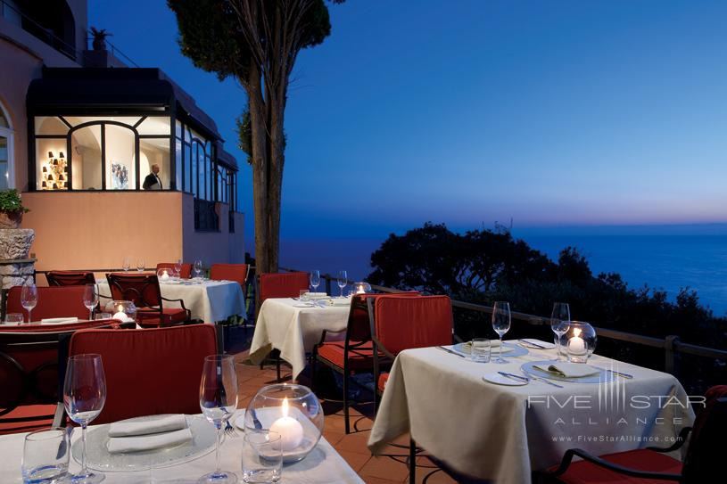 Terrace View at The Punta Tragara Hotel
