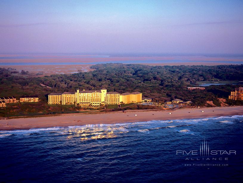Sunrise Over The Omni Amelia Island Resort