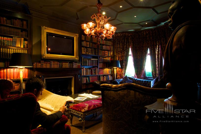 Library at The NO 11 Cadogan Gardens Hotel
