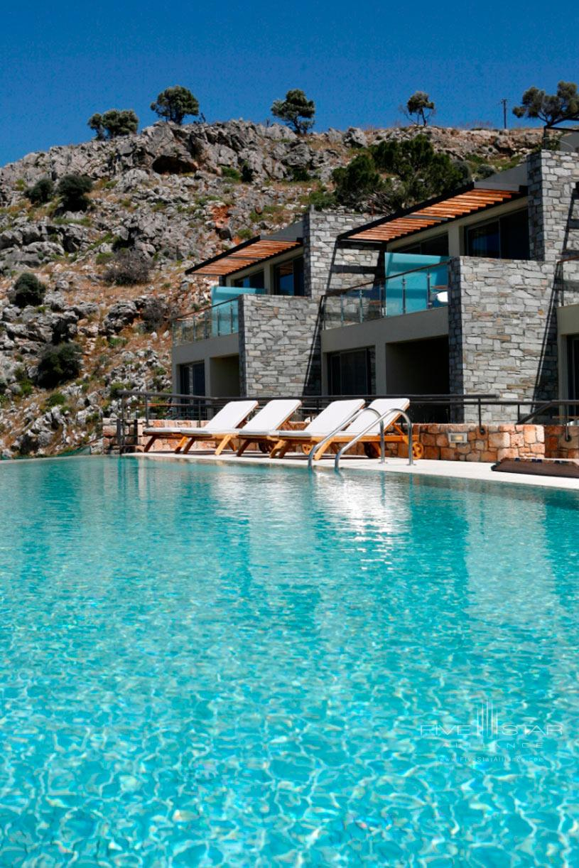 Exterior of Lindos Blu Hotel
