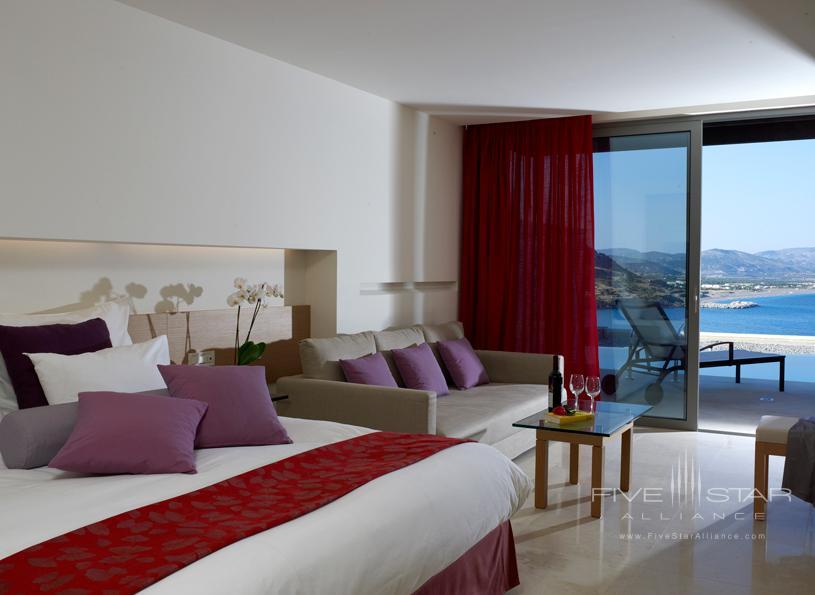 Junior Suite at The Lindos Blu Hotel