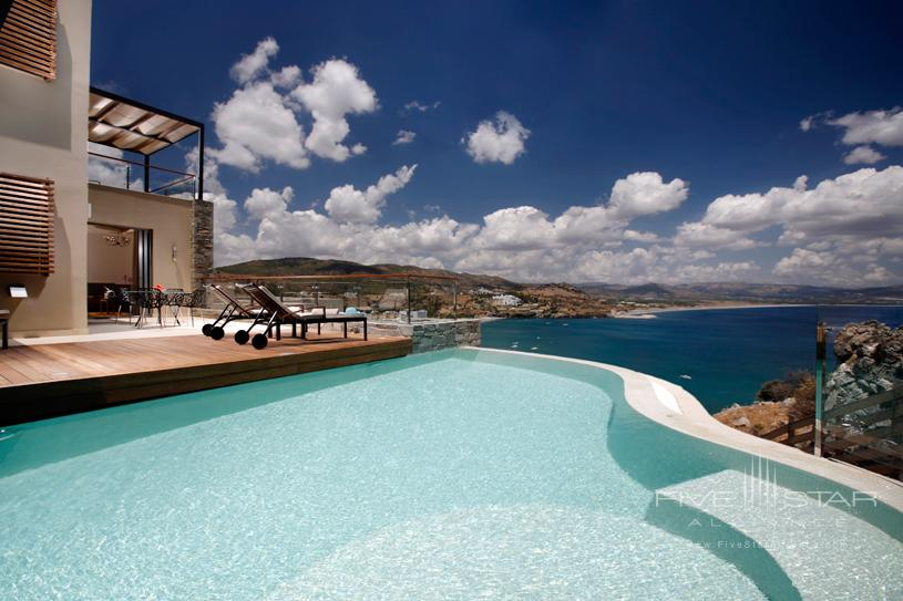 Guest Room With Pool View at The Lindos Blu Hotel