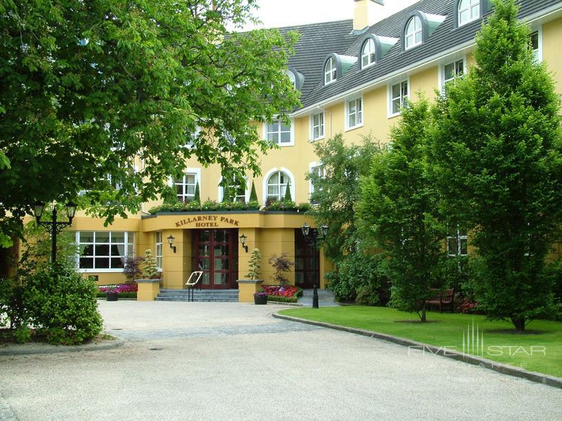 Exterior of The Killarney Park Hotel