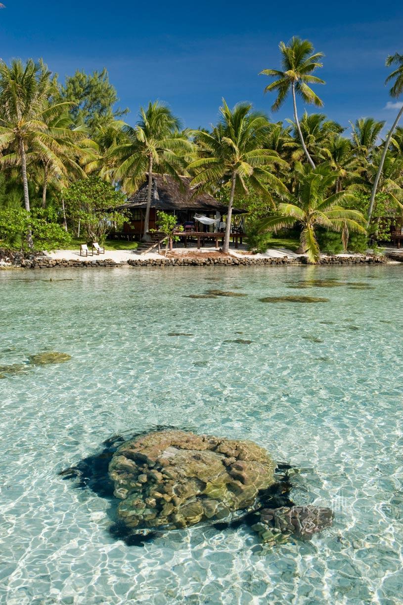 Lagoon at Vahine Island