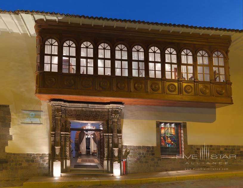 Exterior of The Aranwa Cusco Boutique Hotel