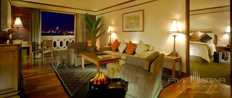 Suite at The Anantara Bangkok Riverside Hotel