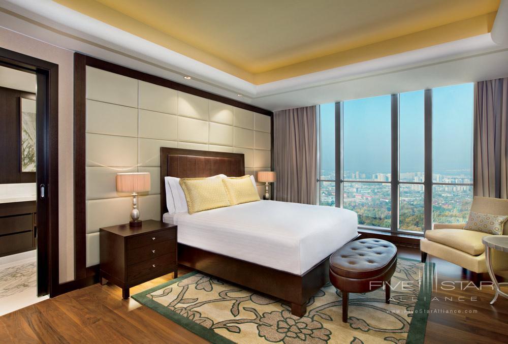 Guest Room at Ritz Carlton Almaty