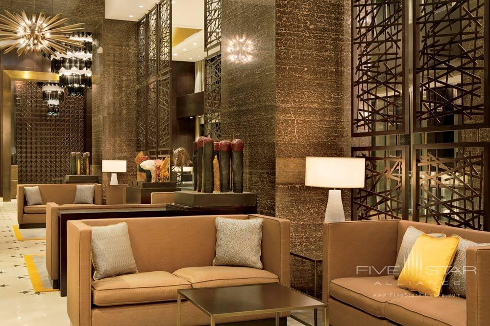Lobby at Ritz Carlton Almaty
