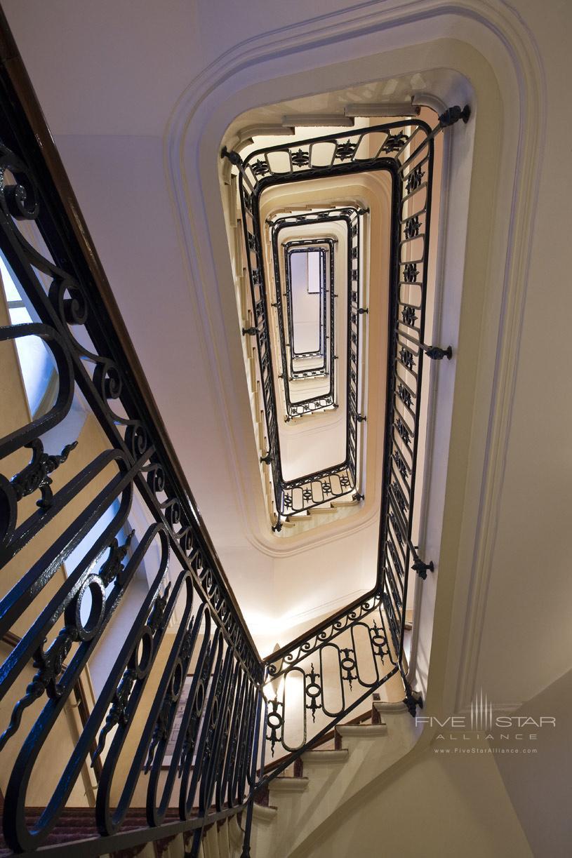 Stairs at Grand Palais Royale Hotel