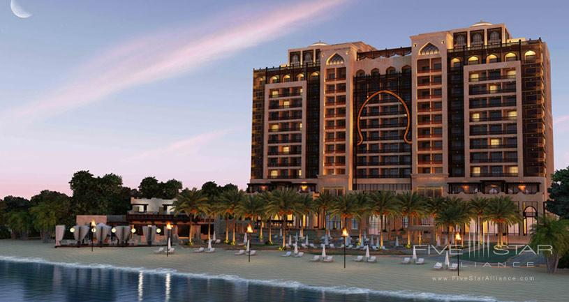 Exterior of The Ajman Saray Hotel
