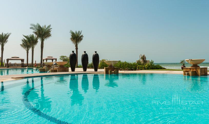 Pool at The Ajman Saray Hotel