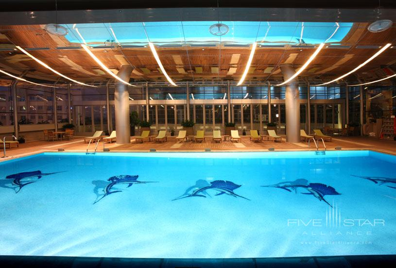 Indoor Pool at La Cigale Hotel