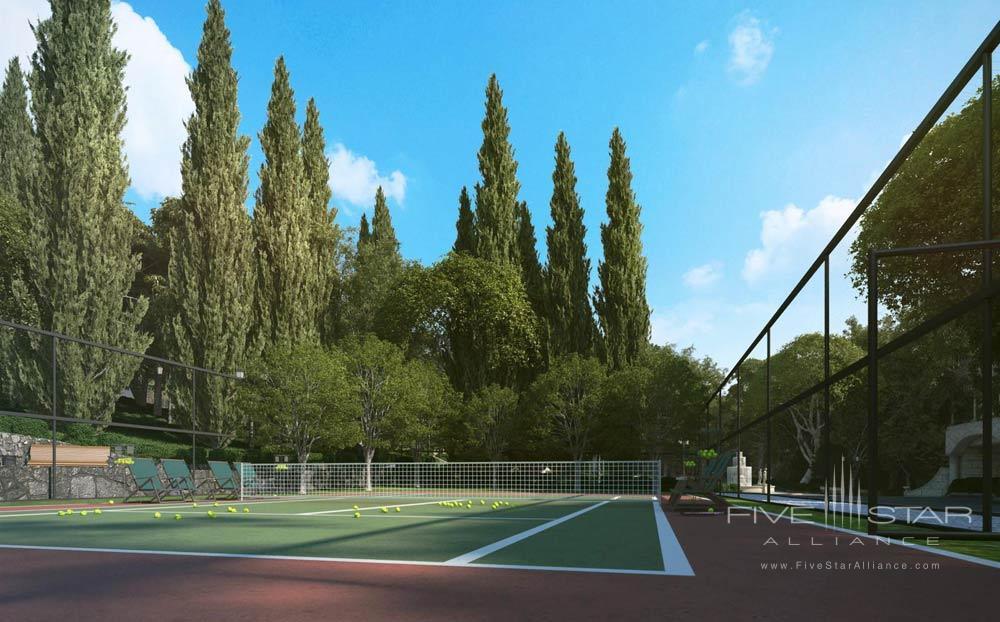 Tennis Court at Swissotel Sochi Kamelia