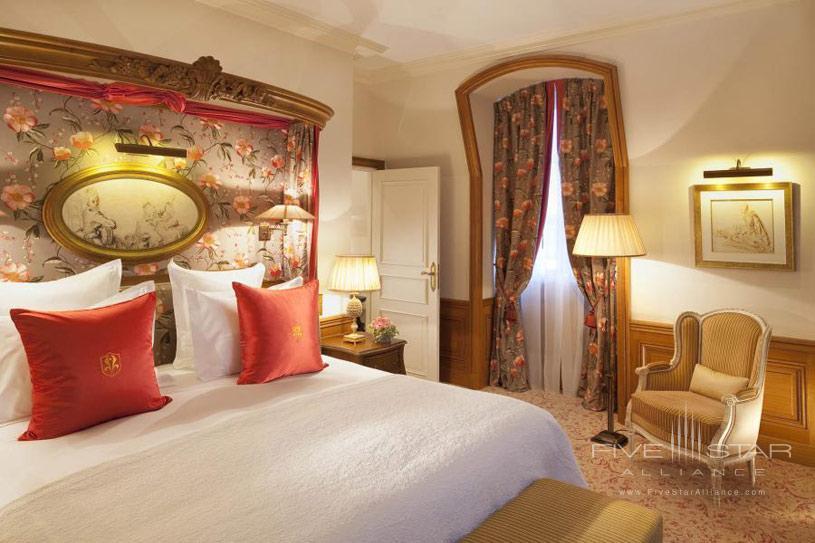 Guest Room at The Auberge Du Jeu De Paume Hotel