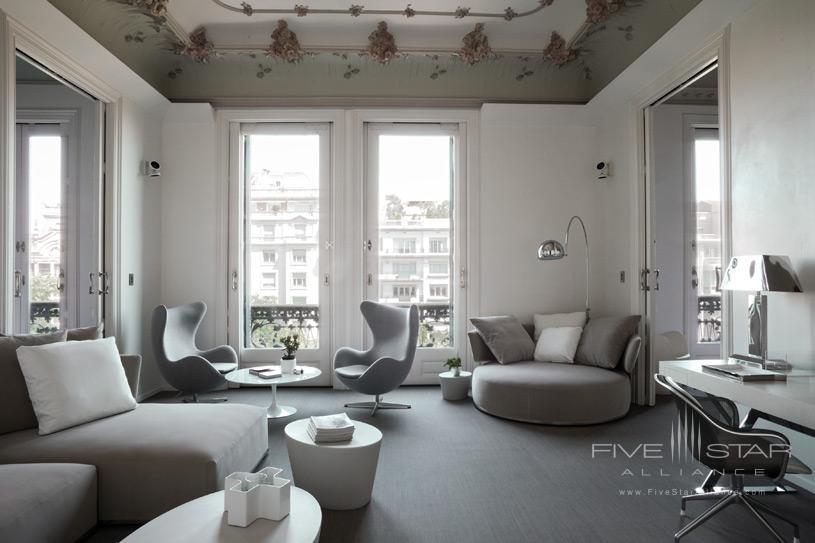 Living Area at Palauet Living Barcelona