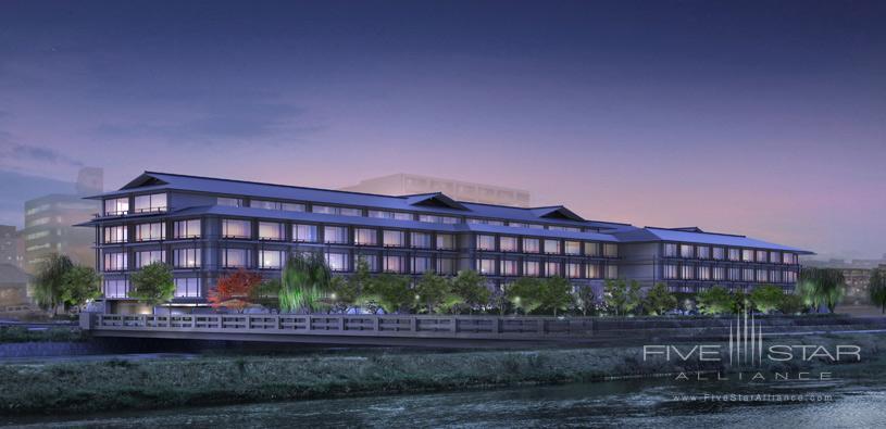 Exterior of The Ritz Carlton Kyoto
