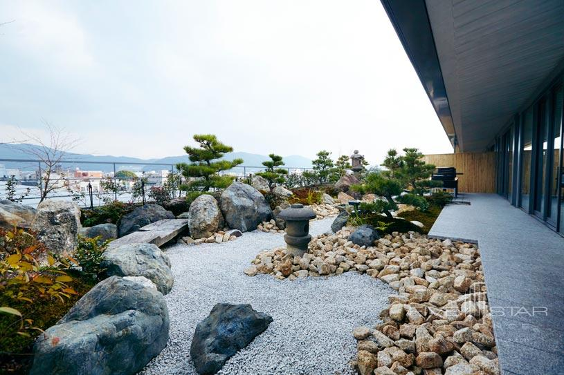 Garden view from suite at The Ritz Carlton Kyoto