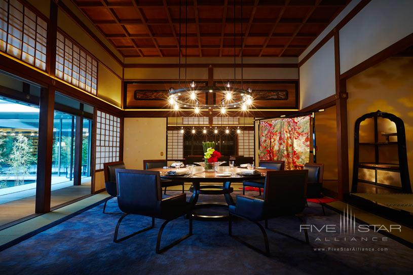 Dining at The Ritz Carlton Kyoto