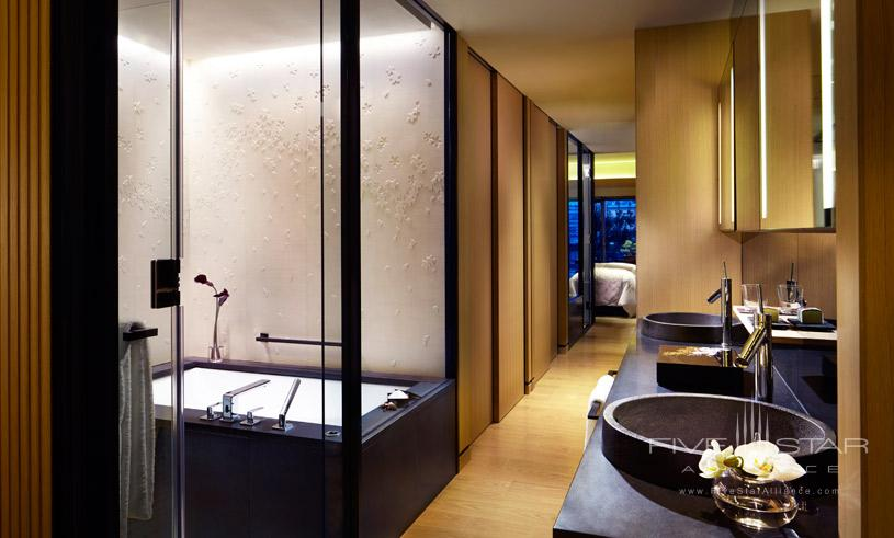Luxury Bath at The Ritz Carlton Kyoto