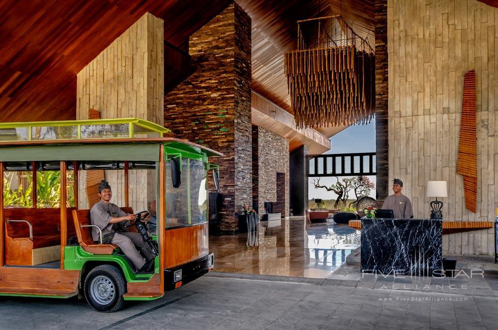 Tram Shuttle at RIMBA Jimbaran BaliIndonesia