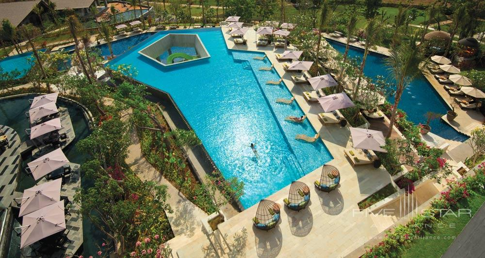 Upper Pool at RIMBA Jimbaran BaliIndonesia