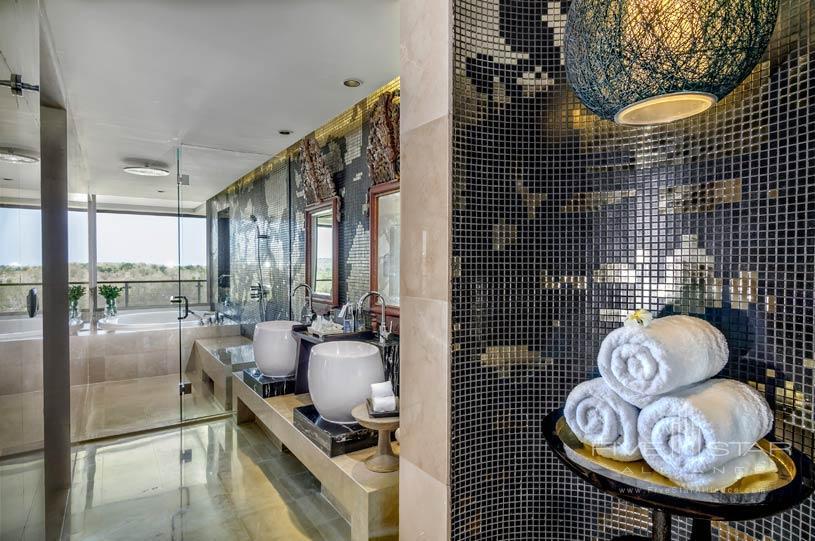 Bathroom at Rimba Jimbaran Bali Hotel