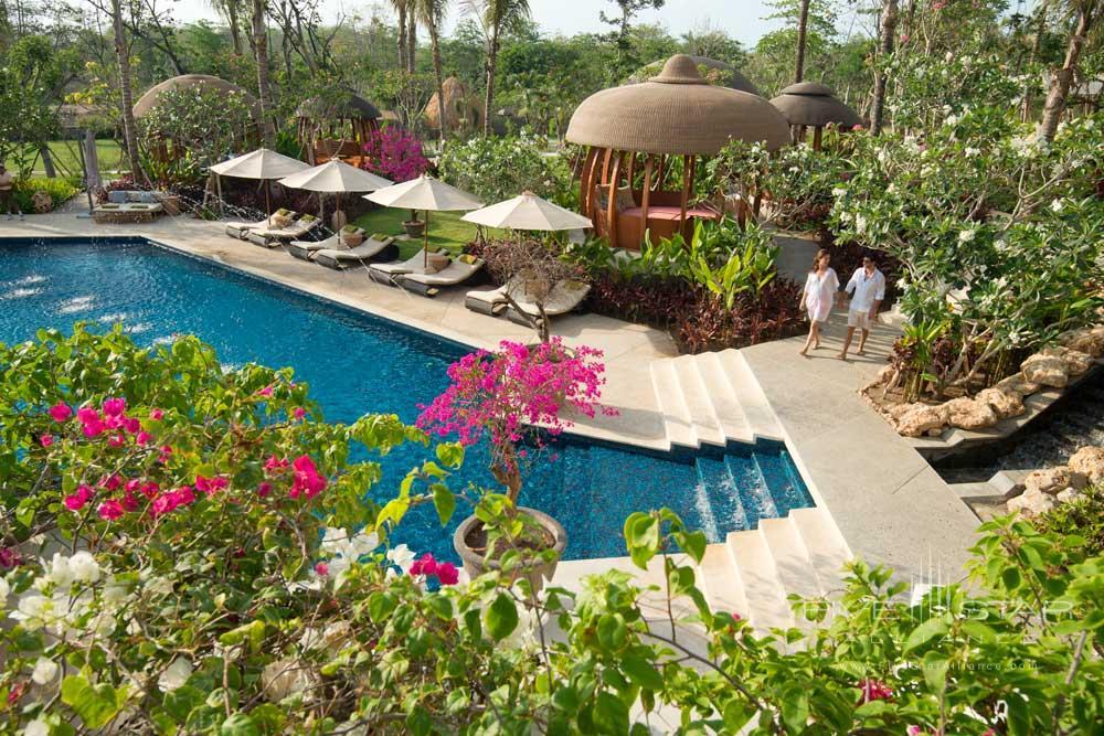 Cabana Pool at RIMBA Jimbaran BaliIndonesia