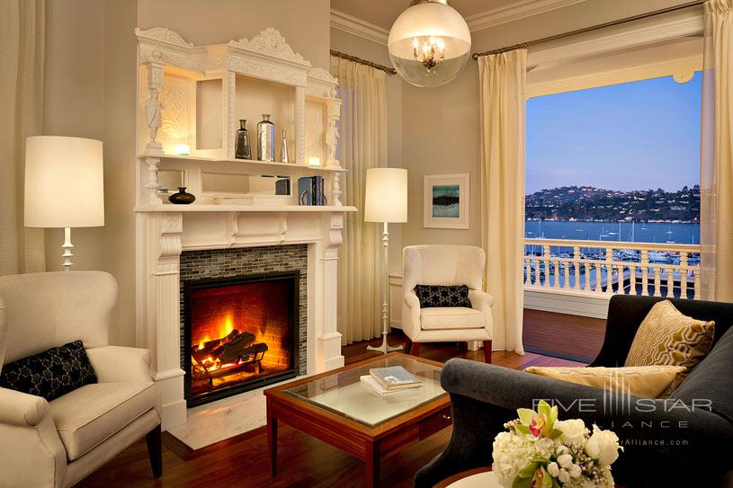Sitting Area at Casa Madrona Hotel and Spa