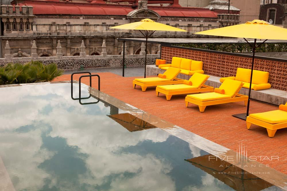 Pool at Downtown Mexico Hotel
