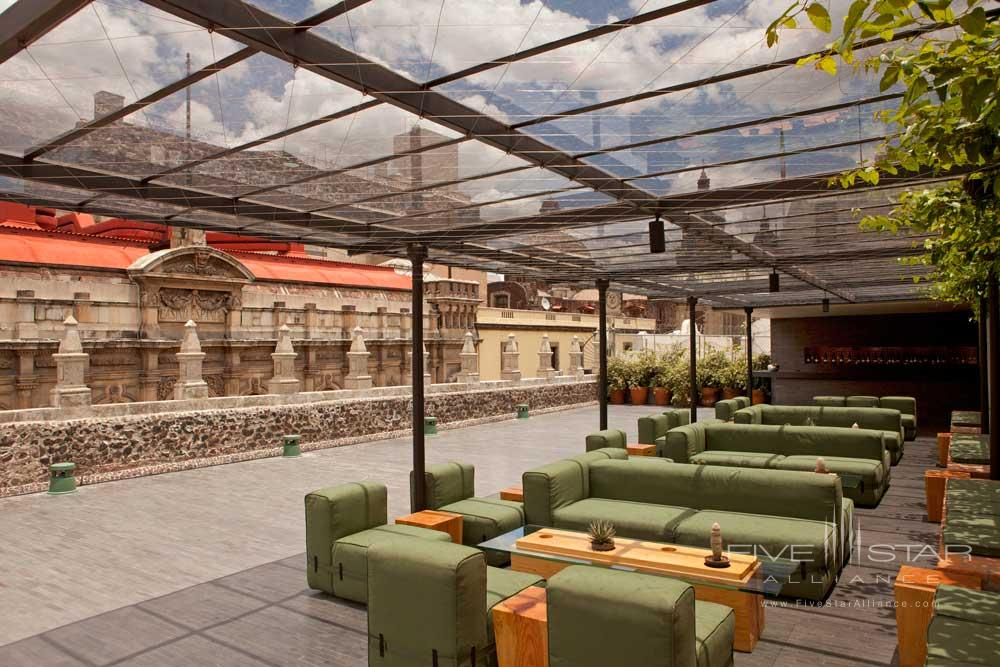 Terrace at Downtown Mexico Hotel