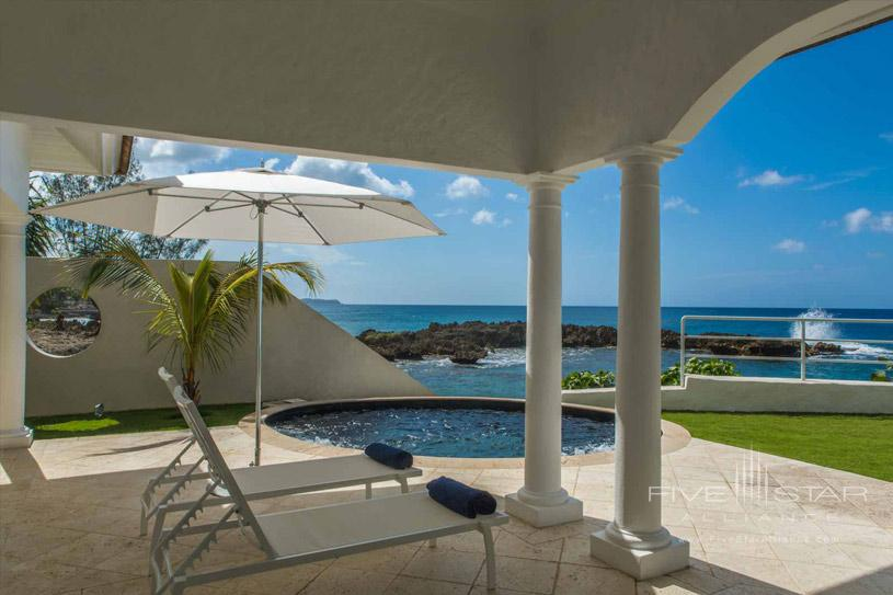 Sea Side Plunge Pool at Shiprock Villa Trident Port Antonio, Jamaica