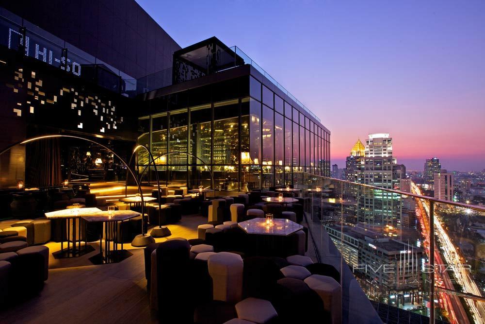 View from The Sofitel So Bangkok Hotel