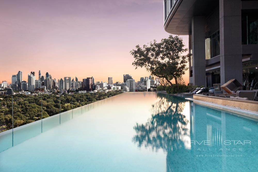 Infinity Pool at The Sofitel So Bangkok Hotel