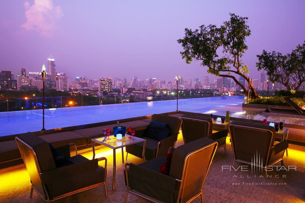 Pool Area at The Sofitel So Bangkok Hotel