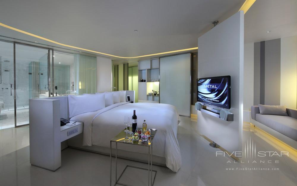 Metal Guest Room at The Sofitel So Bangkok Hotel