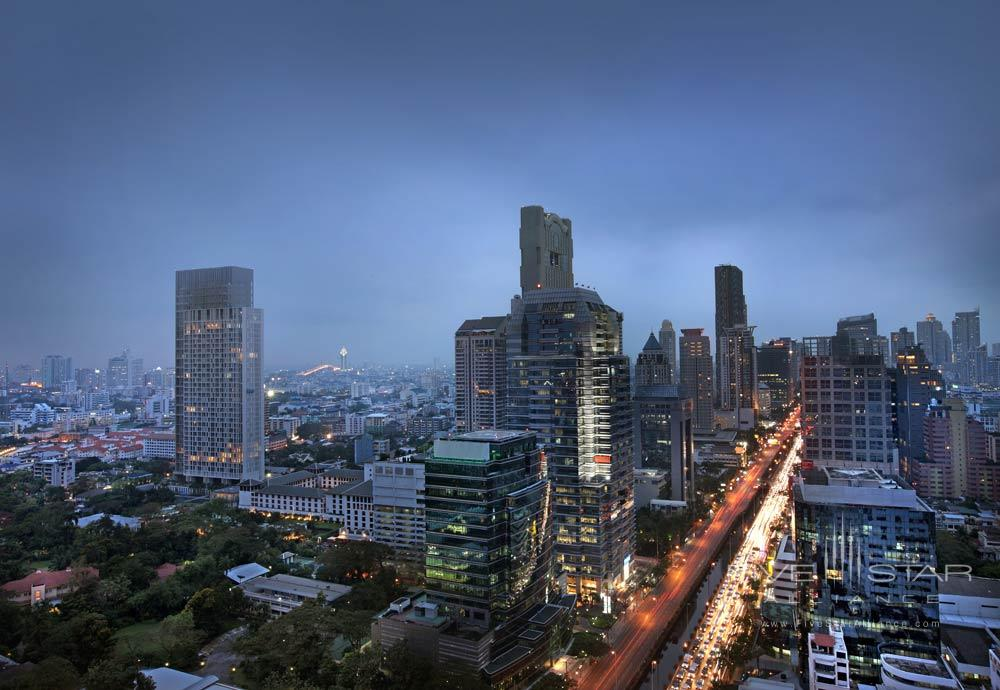 City View from the Sofitel So Bangkok