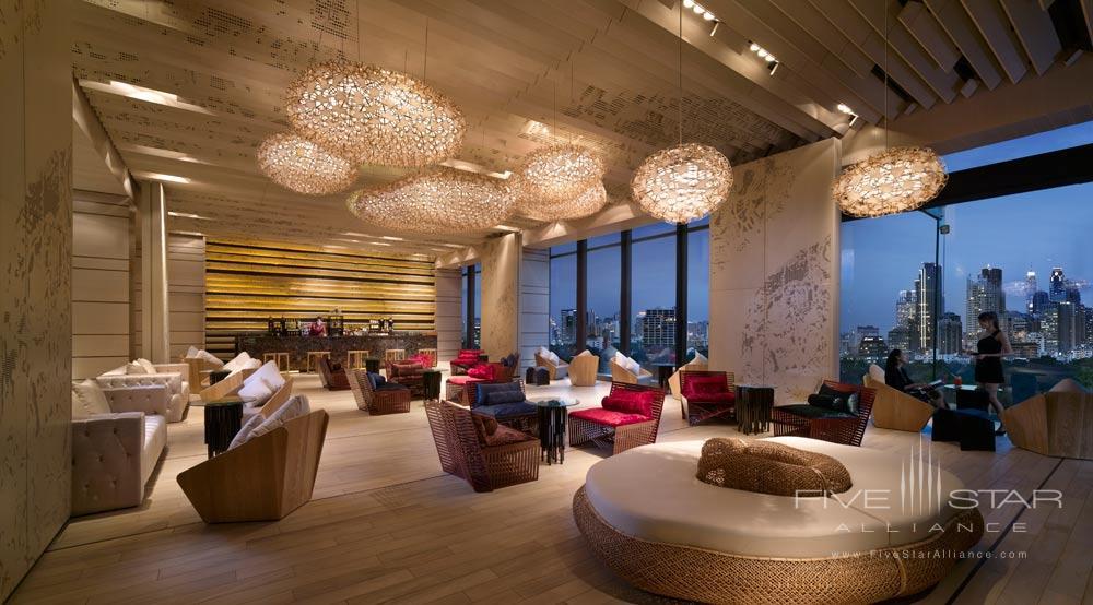 Lobby of The Sofitel So Bangkok Hotel