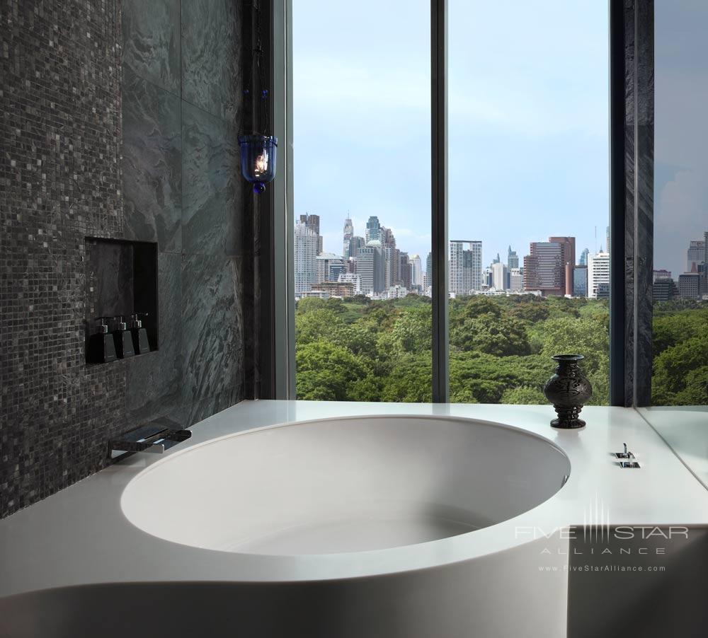 Water Element RoomBath at The Sofitel So Bangkok Hotel