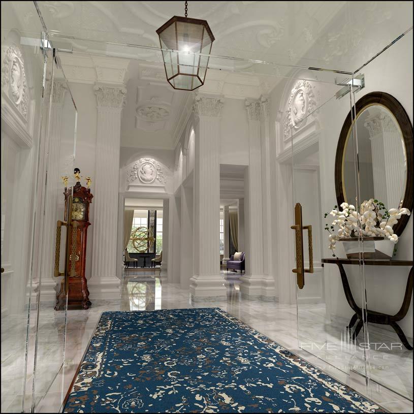Lobby of The Waldorf Astoria Amsterdam Hotel