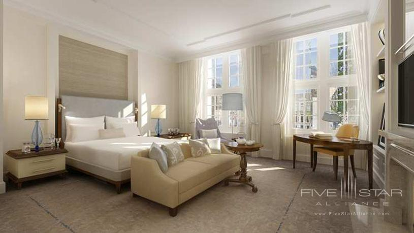 Guestroom at The Waldorf Astoria Amsterdam Hotel