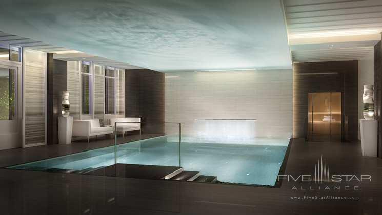 Pool Area at The Waldorf Astoria Amsterdam