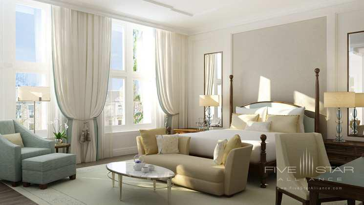 Royal Guest Room at The Waldorf Astoria Amsterdam