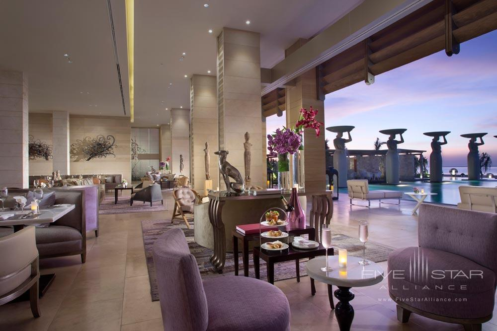 Lounge Area at Mulia Bali