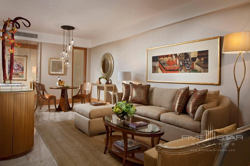 Earl Suite Living Room at Mulia Bali