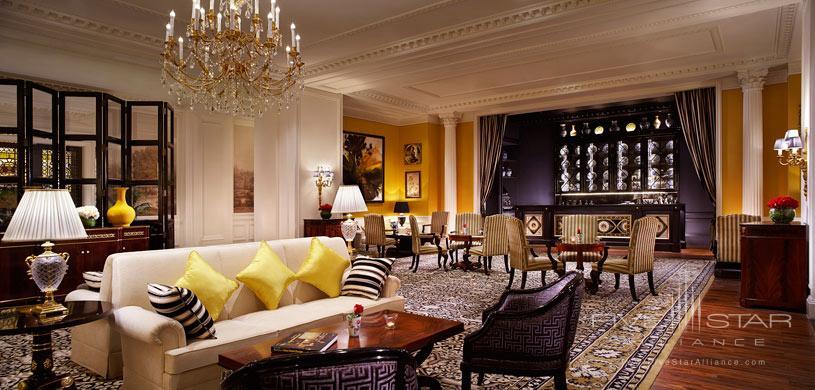 Lobby at Ritz Carlton Tianjin