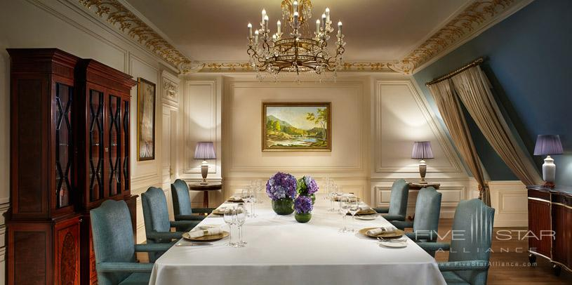Dining Room at Ritz Carlton Tianjin
