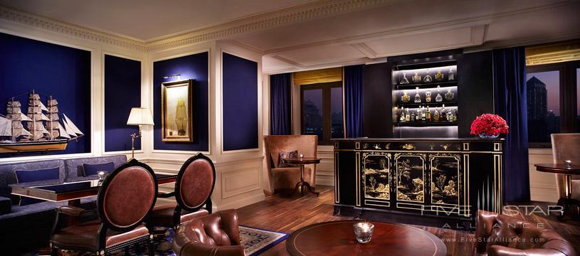Club Lounge at Ritz Carlton Tianjin