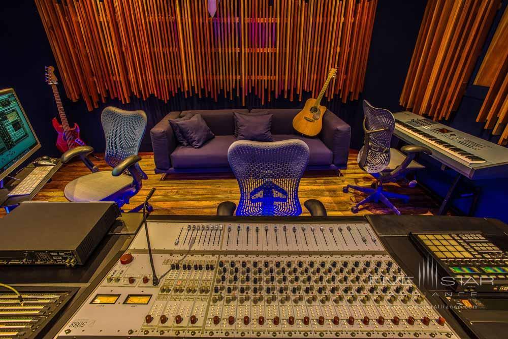 Studio at Geejam Hotel