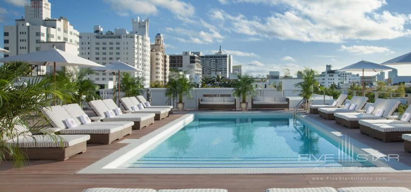 Rooftop Pool at Redbury South Beach